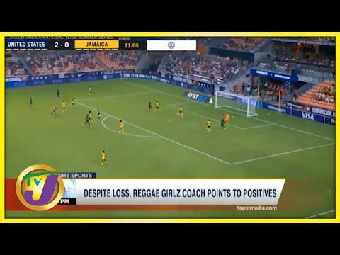 Reggae Girlz Lost 4-0 to USA - June 14 2021