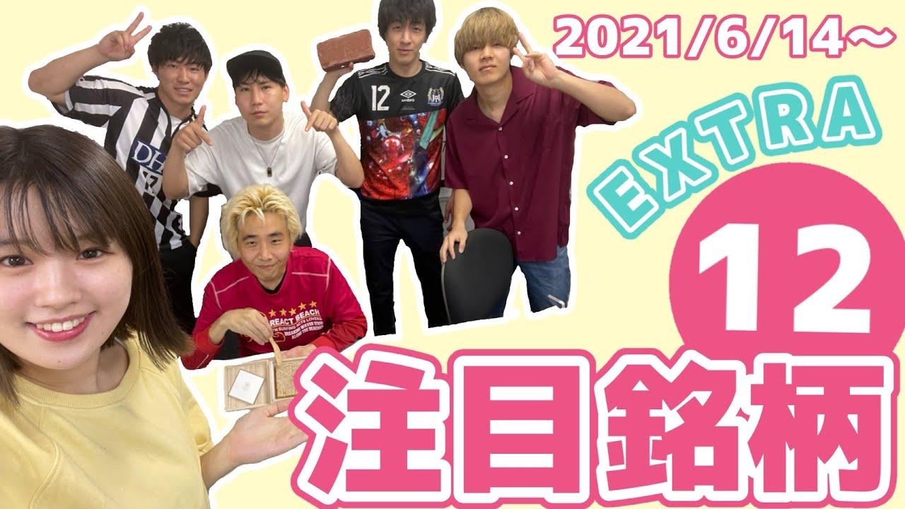 【株TubeEXTRA#140】2021年6月14日~の注目銘柄EXTRA12