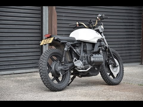 bmw k75 scrambler brat bike loud youtube. Black Bedroom Furniture Sets. Home Design Ideas
