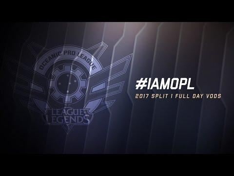 OPL Split 1 2017 - Week 7 Day 1: SIN vs. CHF | X5 vs. AE