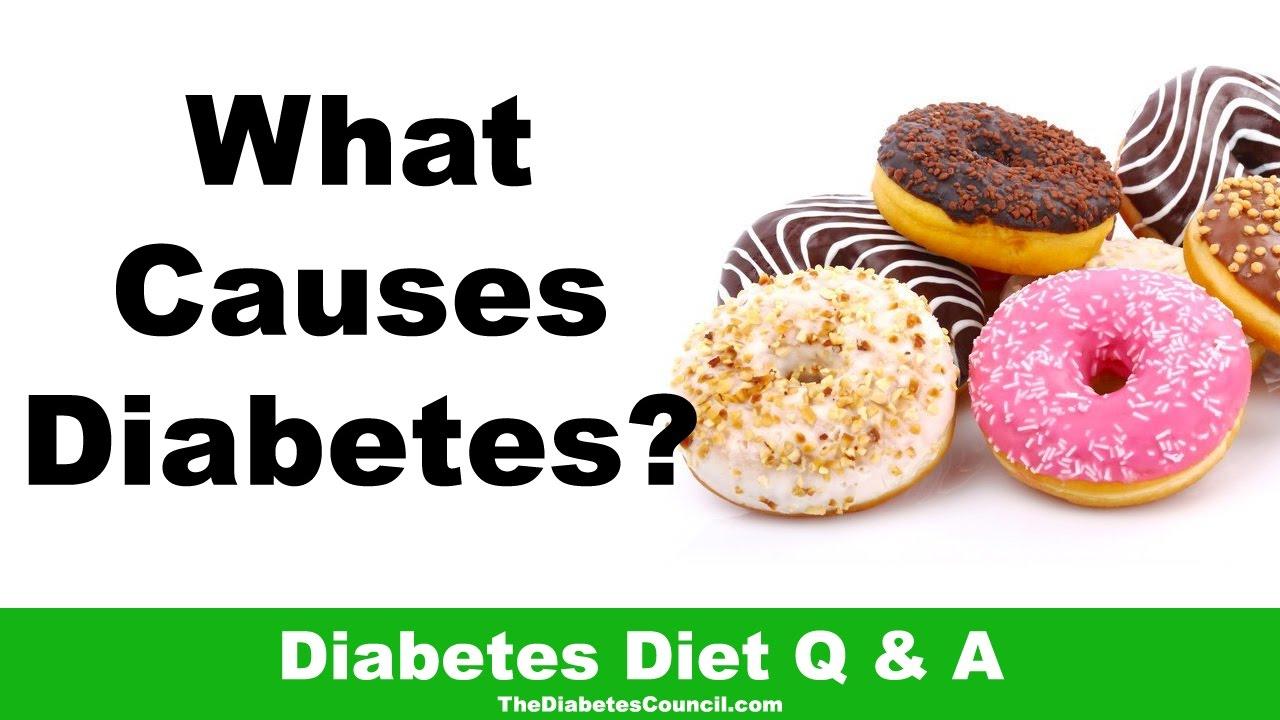 is diabetes caused by diet