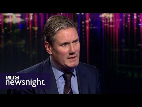 Sir Keir Starmer on Labour's Brexit position - BBC Newsnight