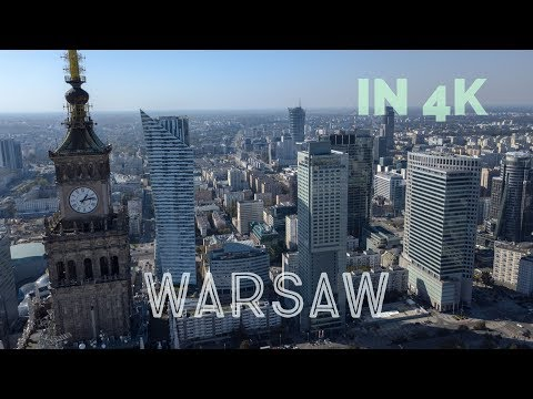 Warsaw with Birds Eye 4K - Mavic Pro