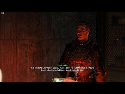 Chuck Finley Dialogue - Outcasts & Remnants (Fallout 4)