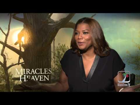 Queen Latifah Interview Miracles From Heaven