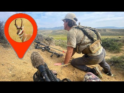 Spot and Stalk Archery Pronghorn Hunting! – Colorado Public Land