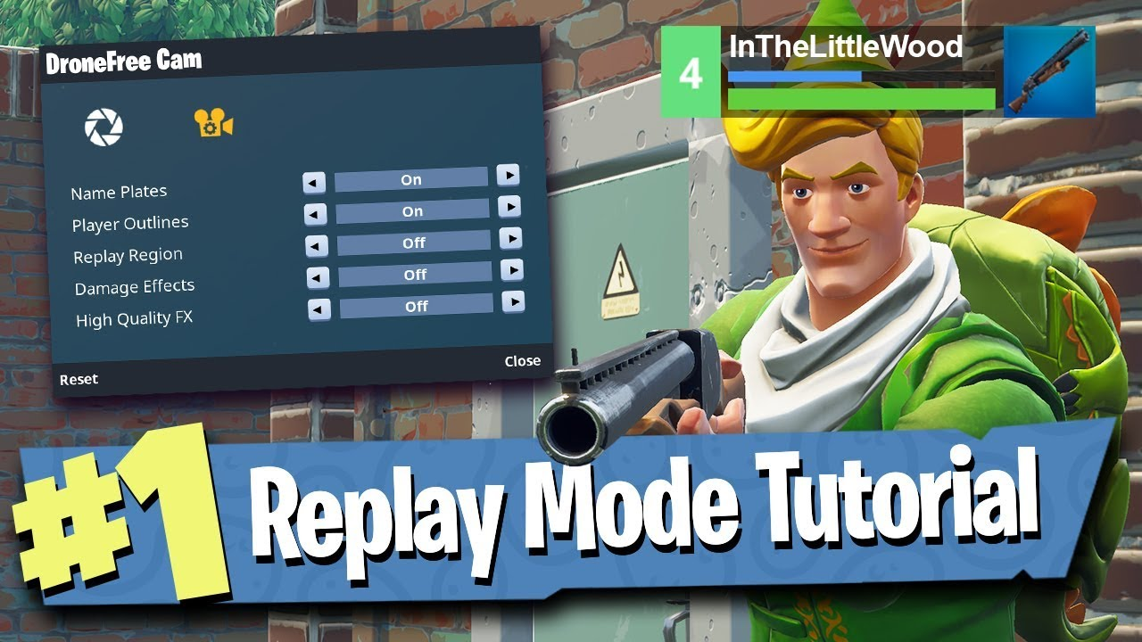 43ca220f74c Fortnite Replay Mode - Tutorial   Walkthrough   Explained! - YouTube