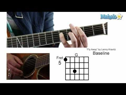 How To Play Fly Away By Lenny Kravitz On Guitar