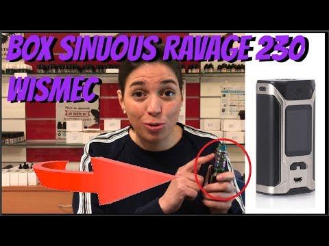 [tuto]-box-sinuous-ravage-230-wismec-❤️-(revue-fr-🇫🇷)