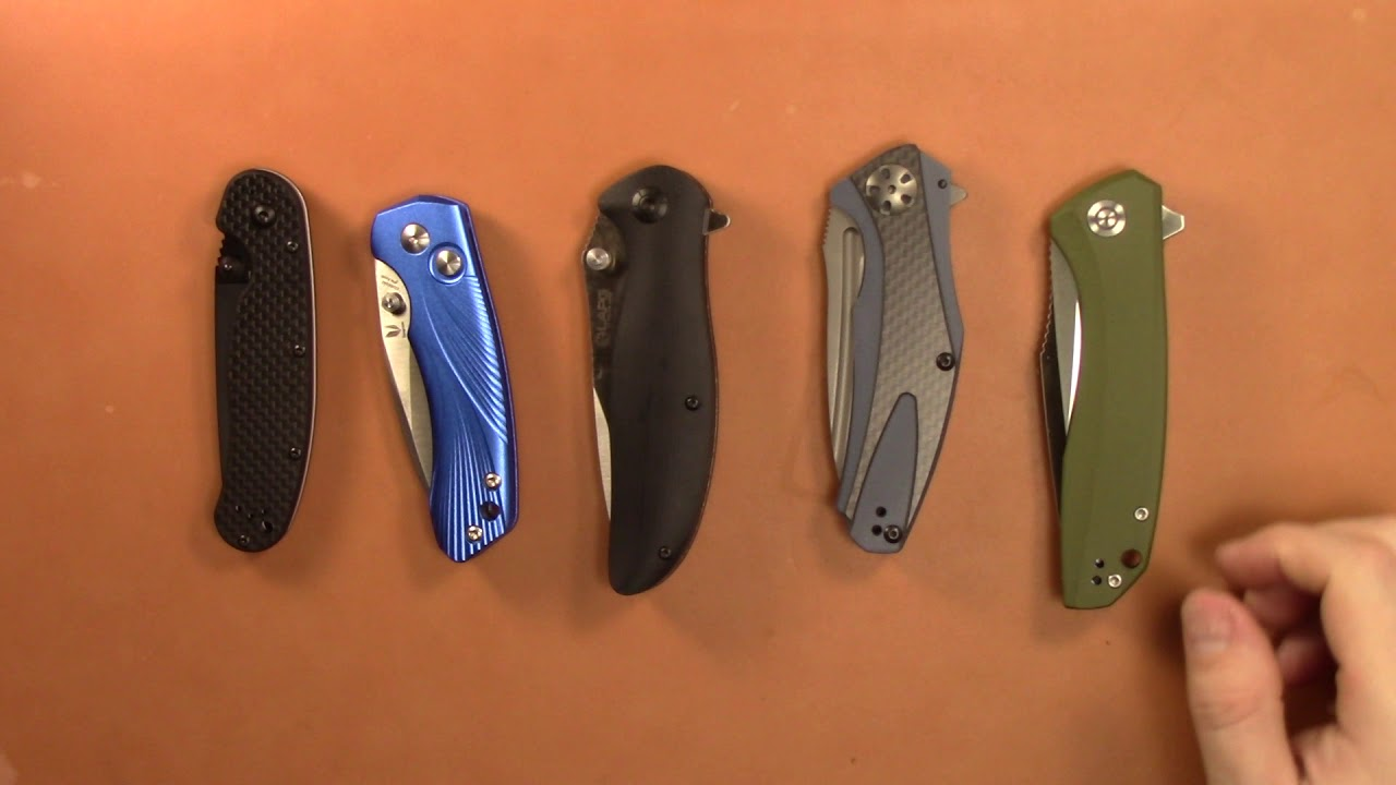 Top 5 Knives under $50 of 2018