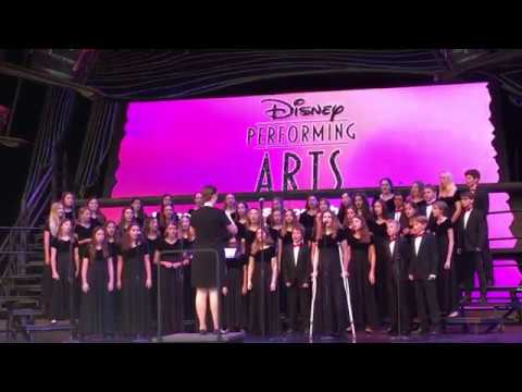 Seasons of Love - Nerea Cabana Solo at Disney with Lincoln Middle School Choir