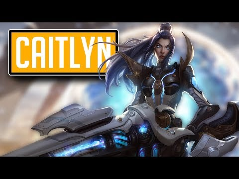 League of Legends #489: Caitlyn ADC (CZ/Full HD/60FPS) thumbnail