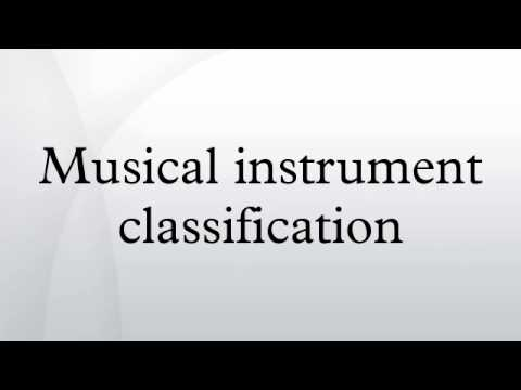 Worksheets 4 Classification Of Musical Instruments musical instrument classification youtube