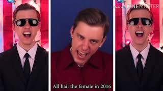 Hillary Clinton vs. Donald Trump vs. Bernie Sanders Politic Clash_ by Paint NIGHTCORE