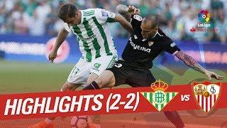 Resumen de Real Betis vs Sevilla FC (2-2)