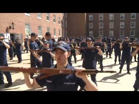 Coast Guard '100th Week' Opens With Military Training