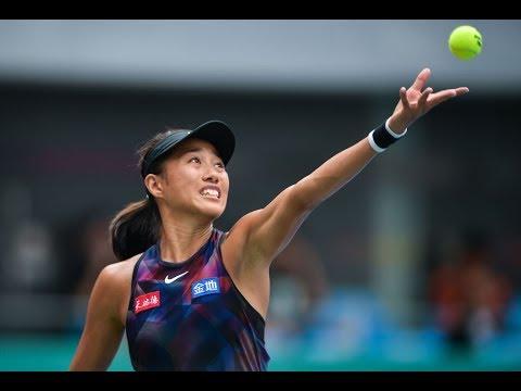 2017 Guangzhou Women's Open Final | Zhang Shuai vs Aleksandra Krunić | WTA Highlights