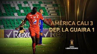 América de Cali vs. Deportivo La Guaira [3-1] | RESUMEN | Fecha 5 | CONMEBOL Libertadores 2021