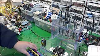 공압 실린더를 이용한 소형 프레스 만들기(상승 지연 시…