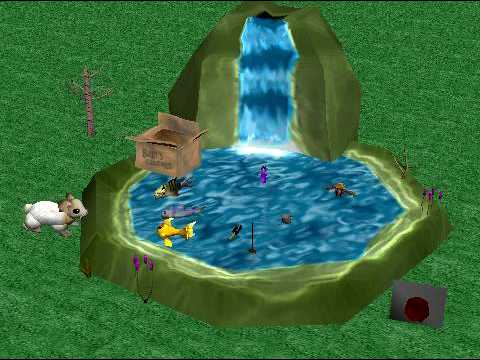 Water pollution 3d animation youtube - Water kamer model ...