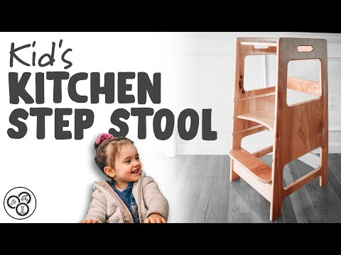 kid's-kitchen-step-stool-/-learning-tower-|-plans-available