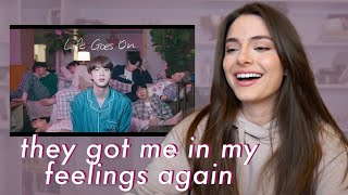 Gambar cover BTS (방탄소년단) 'Life Goes On' Official MV | REACTION
