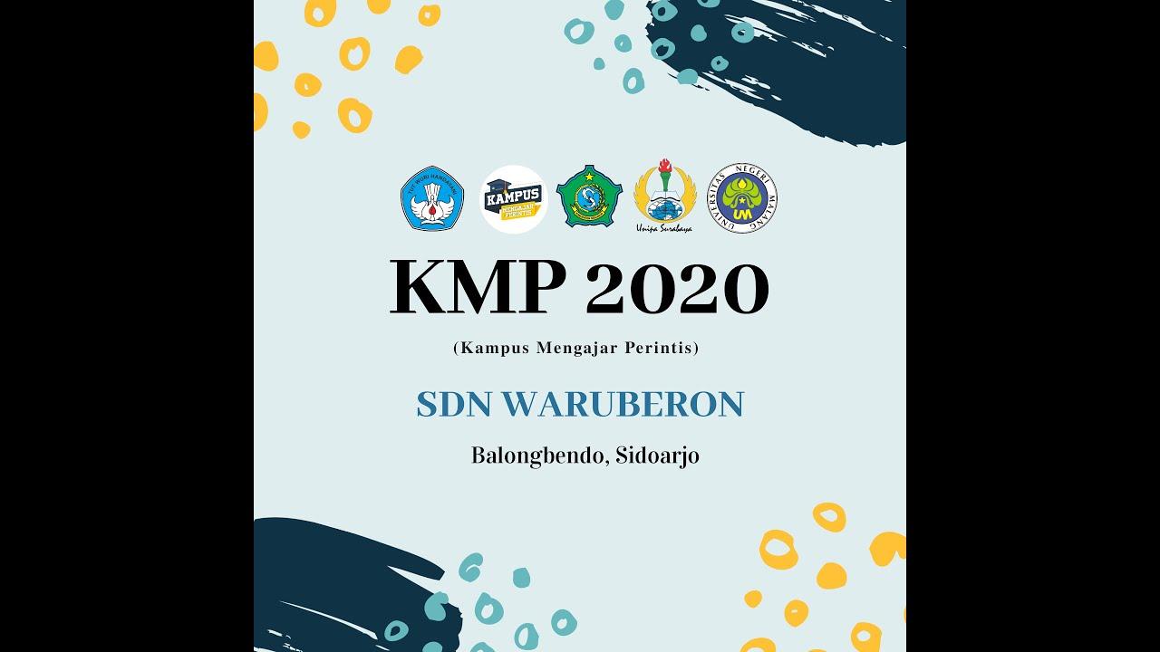 Laporan Minggu Ke 1 Kampus Mengajar Perintis Kmp 2020 Sdn Waruberon Kec Balongbendo Kab Sidoarjo Youtube