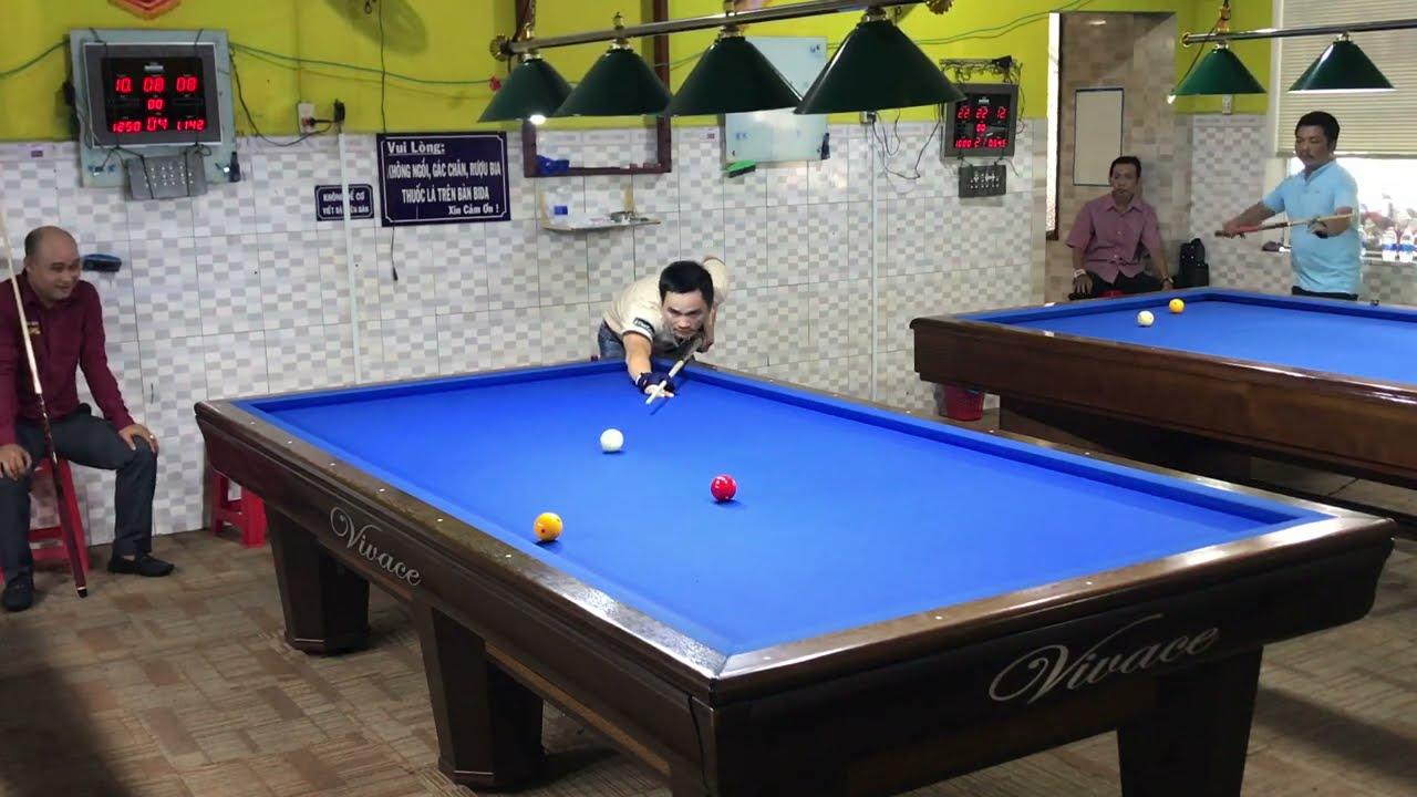 Cơ thủ TRẦN ĐỨC MINH - THANH TÙNG, Billiards Carom 3 cushion Vietnam