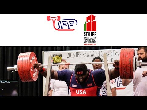 Junior Men, 93 kg - World Classic Powerlifting Championships 2017