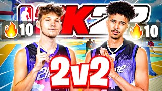 Playing NBA 2K22 Park NEXT GEN w/ @Jesser