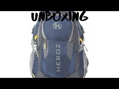 HEROZ Hammer Nylon 45 L Slim Durable Blue Travel Laptop Bag for Men Looking
