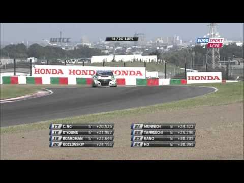 World Touring Car Championchip 2013 Japan Suzuka Race 1 (HUN)