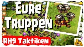EURE TRUPPEN - RH9 TAKTIKFOLGE 🤘 | Clash of Clans Deutsch | Let´s Play COC