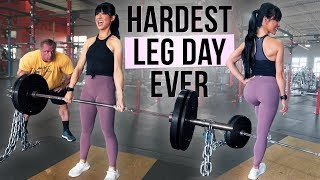 The Most Intense Leg Workout I've Ever Done! Ft. The Mountain Dog