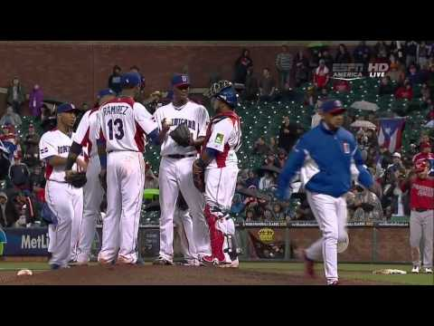WORLD BASEBALL CLASSIC 2013 Final PUERTO RICO VS DOMINICAN R