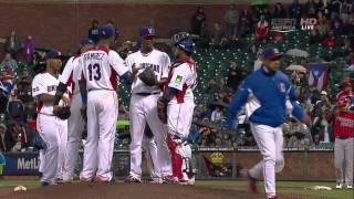 WORLD BASEBALL CLASSIC 2013 Final PUERTO RICO VS DOMINICAN REPUBLIC