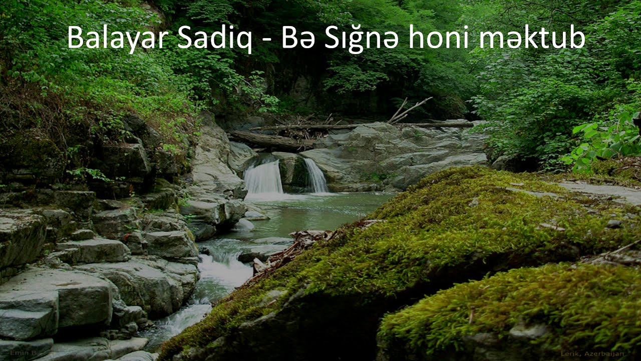 Balayar Sadiq - Sığnə honi məktub