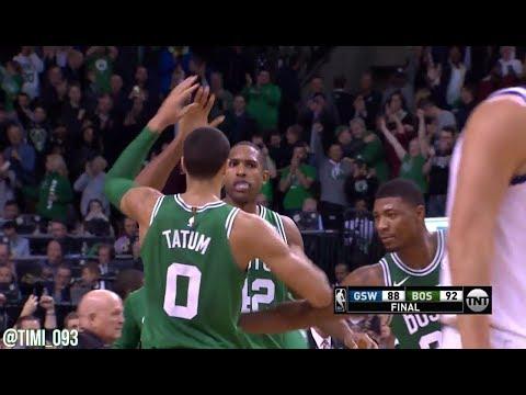 Boston Celtics Defensive Highlights vs Golden State Warriors (11/16/2017)