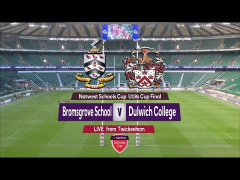 NatWest Schools U18 Cup 2015 FINAL: Bromsgrove School vs. Dulwich College Highlights