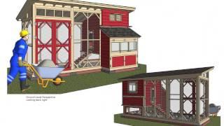 M111_chicken Coop Plans Construction_chicken Coop Design_how To Build A Chicken Coop