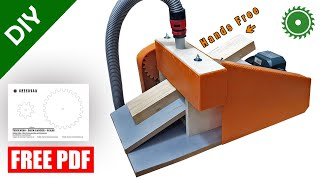 Thickness - Drum Sander - Motorized Feed Mechanism