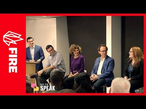 'Viewpoint Diversity on Campus' feat. Mark Lilla, Nadine Strossen, Sam Abrams, April Kelly-Woessner