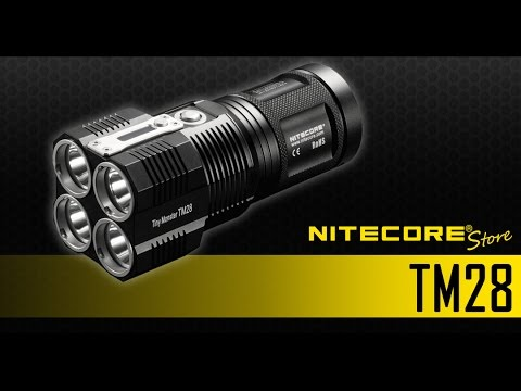 6000 Nitecore Monster Led Tm26 Flashlight Upgrade Lumens Rechargeable Tm28 Tiny To gf76by
