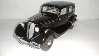 Легендарные советские автомобили №28 - ГАЗ-М1