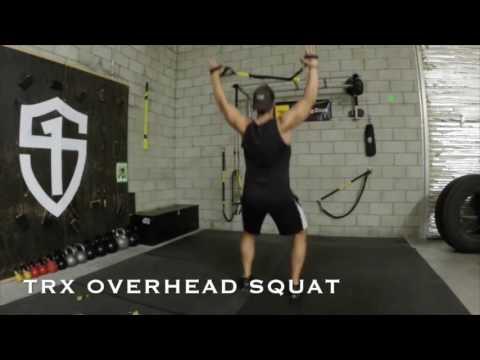 TRX Monday Move Overhead Squat