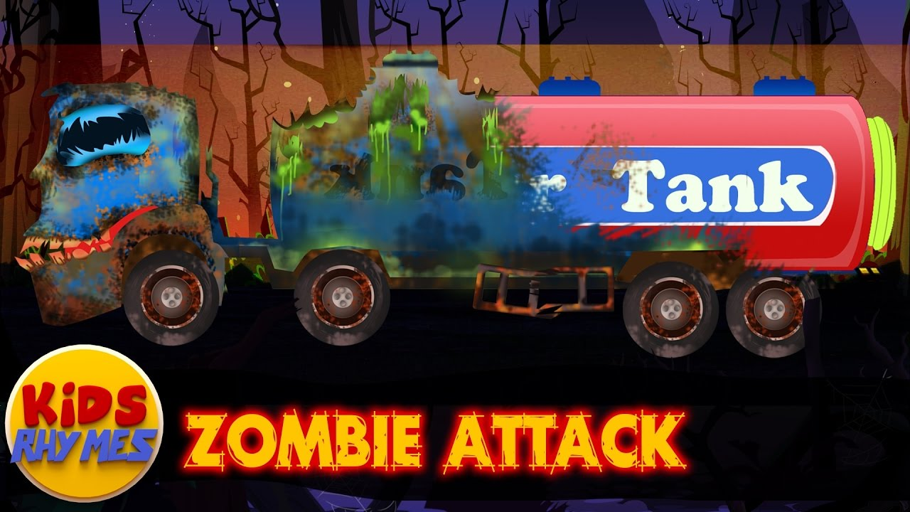 zombie-attack-water-tank-good-becomes-evil-scary-vehicles-for-kids