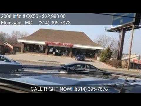 2008 Infiniti Qx56 For Sale In Florissant Mo 63033 At