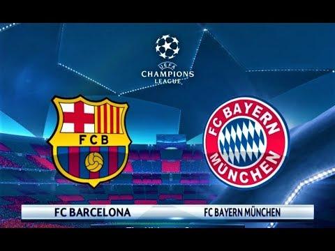 Barcelona vs Bayern Munchen | UEFA Champions League 2018 Final | PES 2018 Gameplay HD