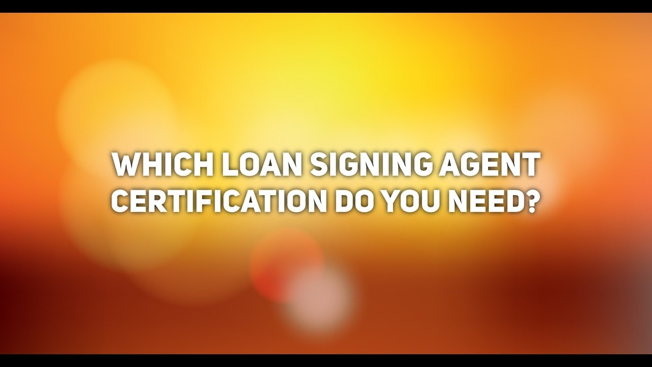 Do you need the nna certification which loan signing agent do you need the nna certification which loan signing agent certifications should you get publicscrutiny Image collections
