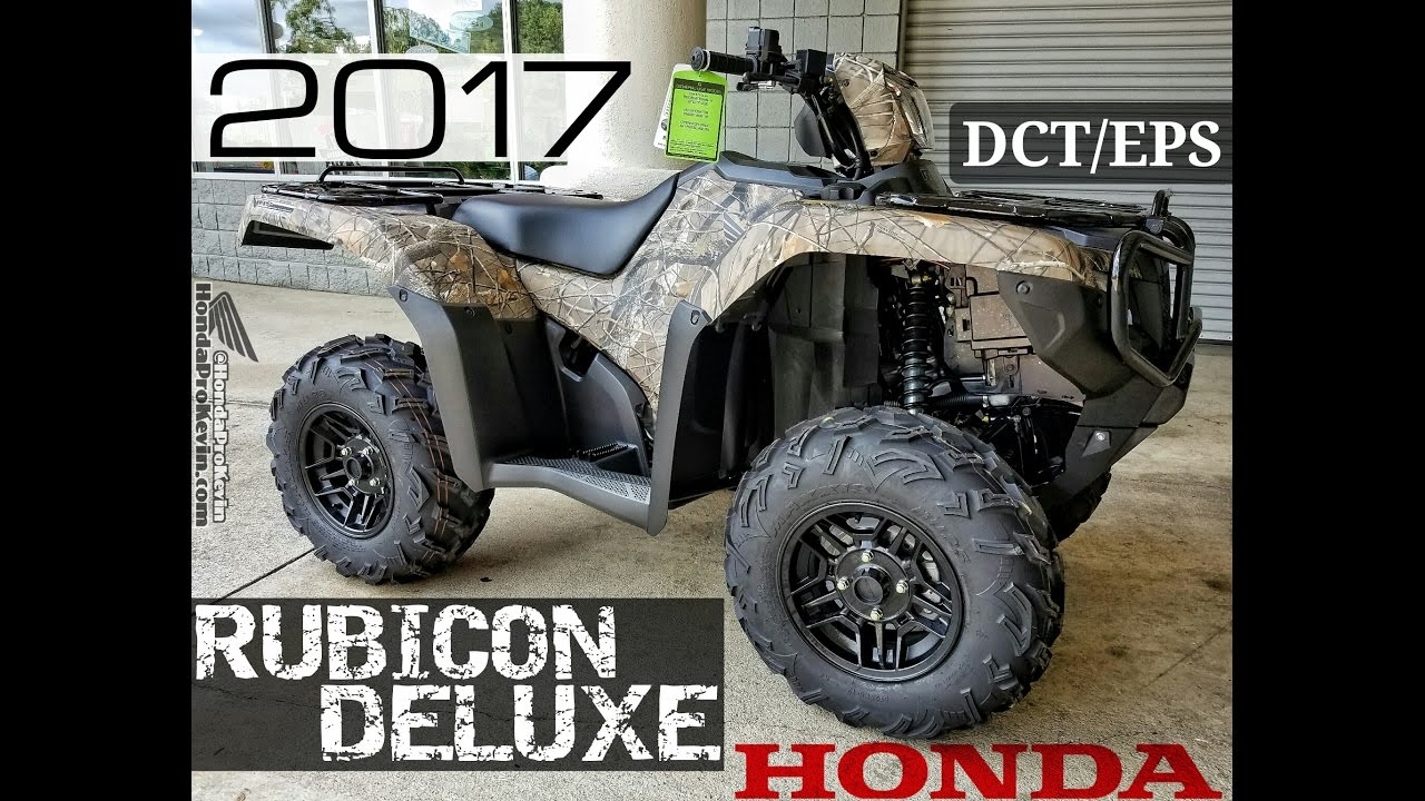 2018 honda 500 foreman. perfect 2018 2017 honda foreman rubicon deluxe 500 dct  eps atv  walkaround video  camo trx500fa7h throughout 2018 honda foreman y
